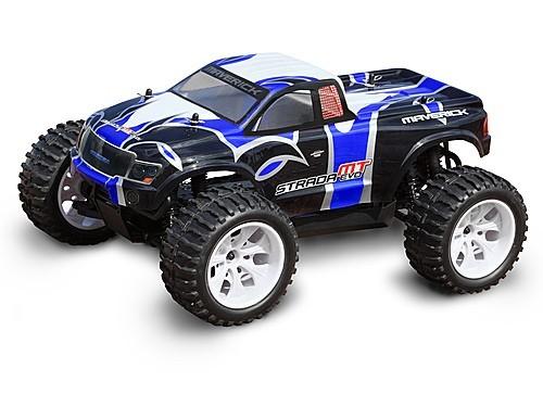 Радиоуправляемый монстр-трак Maverick Strada MT Evo 4WD RTR 1: 10 2.4Ghz