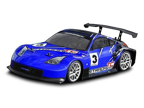Радиоуправляемый туринг Maverick Strada TC Evo 4WD RTR 1: 10 2.4Ghz