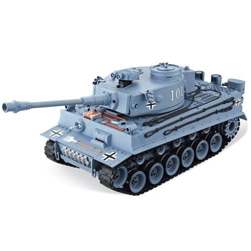 Радиоуправляемая модель танка House Hold CS German Tiger (серый)