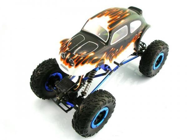 Радиоуправляемый краулер Himoto Mini Rock Crusher 4WD RTR электро 1: 18 2.4Ghz