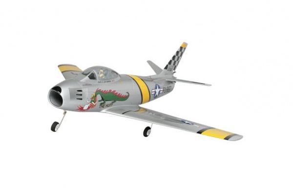 Радиоуправляемый самолет Horizon E-Flite F-86 Sabre 15 DF