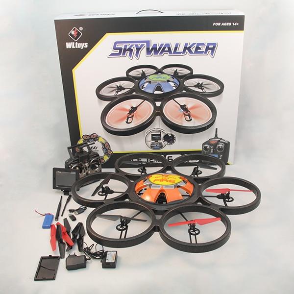 Радиоуправляемый квадрокоптер WL Toys SkyWalke V323 FPV