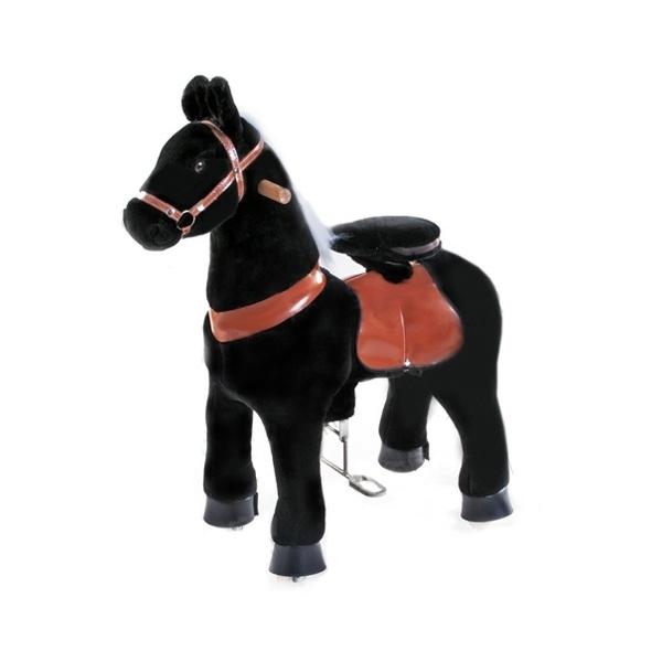 """Поницикл Ponycycle Черная лошадка """"Ночка"""" средний бытовой"""