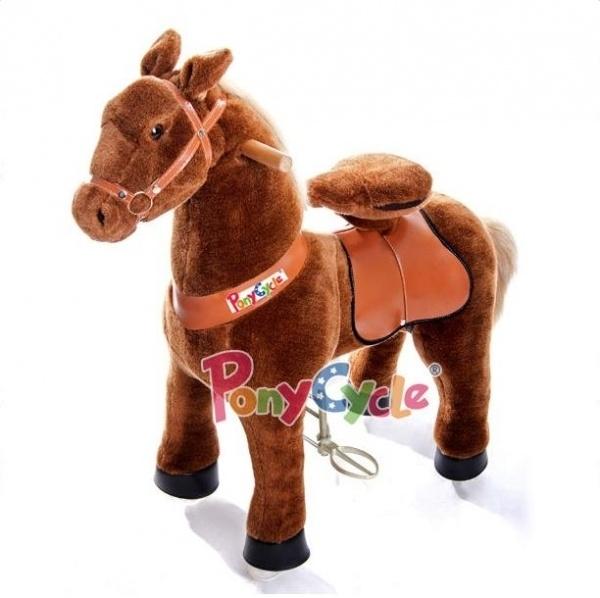 Поницикл Ponycycle Темно-коричневый пони средний профессиональный