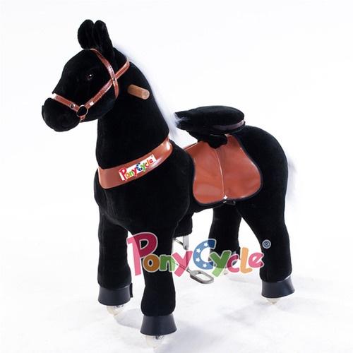 Поницикл Ponycycle Черная лошадка Ночка средний профессиональный