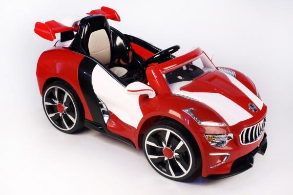 Электромобиль Rivertoys Maserati A222AA красный с дистанционным управлением