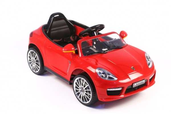Электромобиль Rivertoys Porsche Panamera A444AA красный с дистанционным управлением