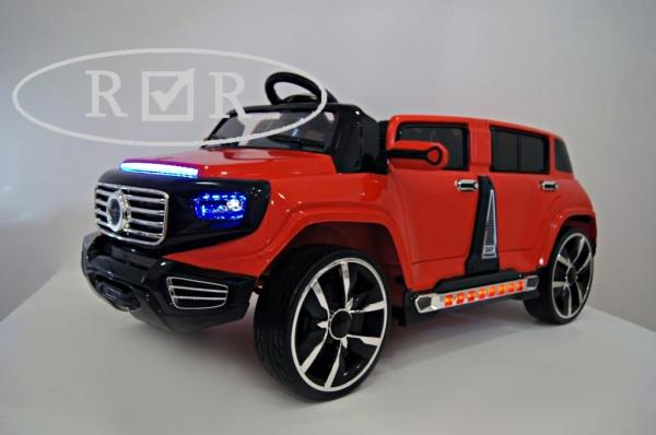 Электромобиль-лимузин Rivertoys Mers A555AA красный с дистанционным управлением