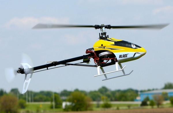 Радиоуправляемый вертолет Blade 450 X, электро, RTF