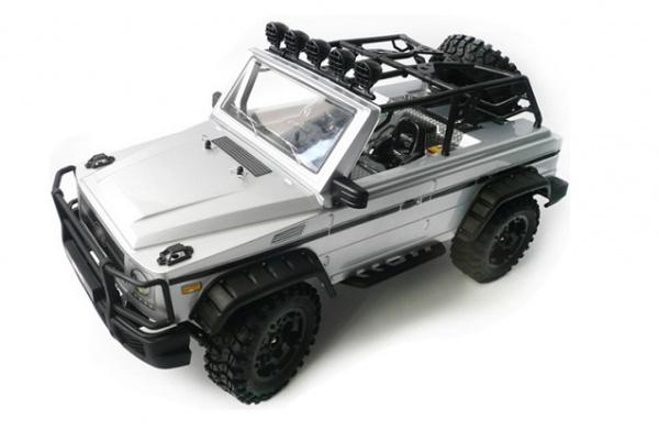 Радиоуправляемый автомобиль для трофи HG 1: 10 Mercedes 4WD 2.4Ghz + Li-Po RTR