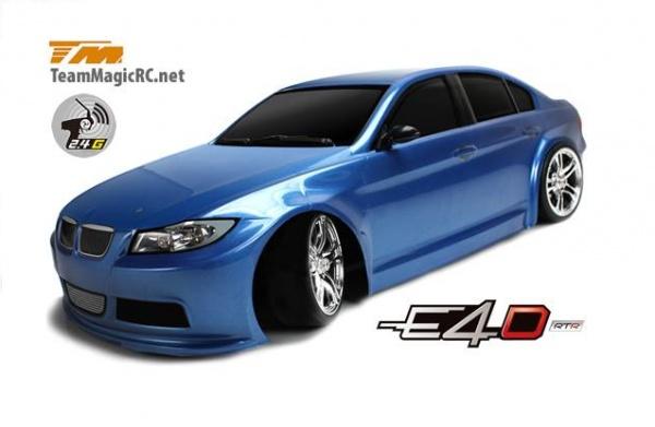 Радиоуправляемый автомобиль Team Magic 1: 10 E4D BMW 320 4WD 2.4Ghz RTR