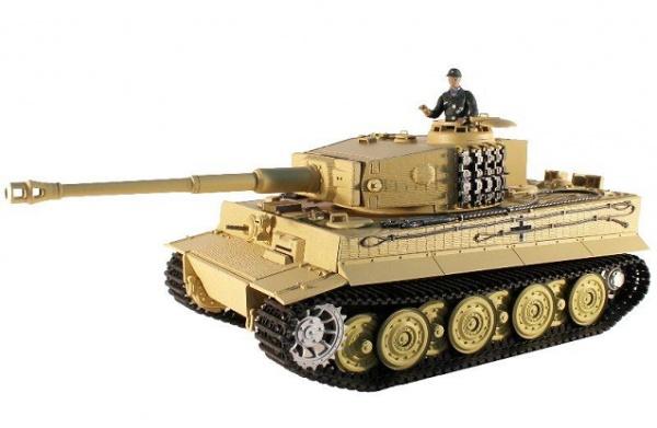 Радиоуправляемый танк Taigen 1: 16 German Tiger 1 (поздняя версия) 2.4 Ghz (пневмо)
