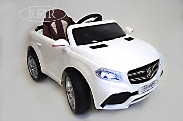 Электромобиль Rivertoys Mers O008OO с дистанционным управлением, белый