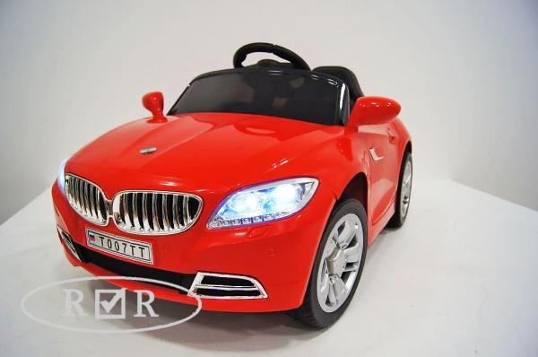 Электромобиль Rivertoys BMW T004TT с дистанционным управлением, красный