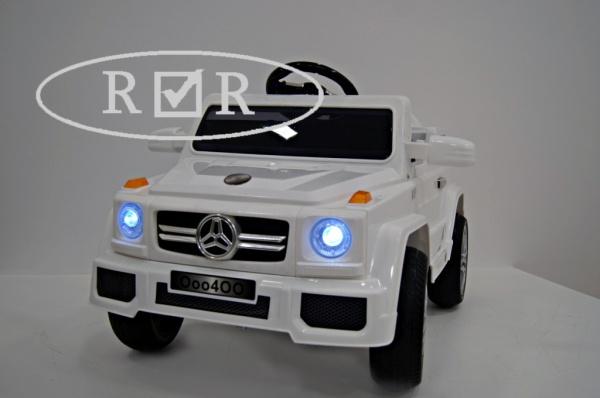 Электромобиль Rivertoys Mers O004OO VIP с дистанционным управлением, белый