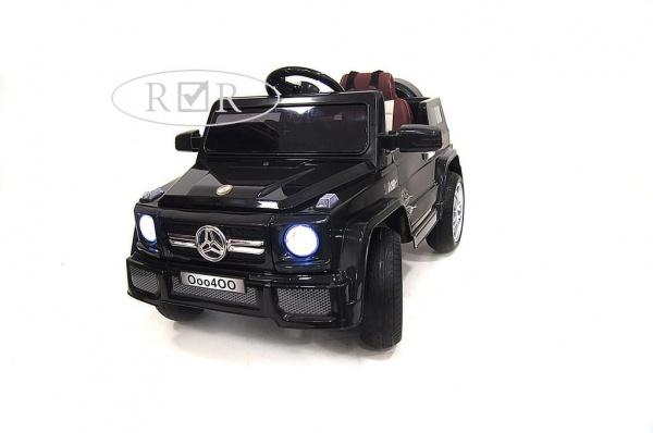 Электромобиль Rivertoys Mers O004OO VIP с дистанционным управлением, черный