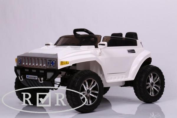 Электромобиль Rivertoys Hummer A888MP с дистанционным управлением, белый