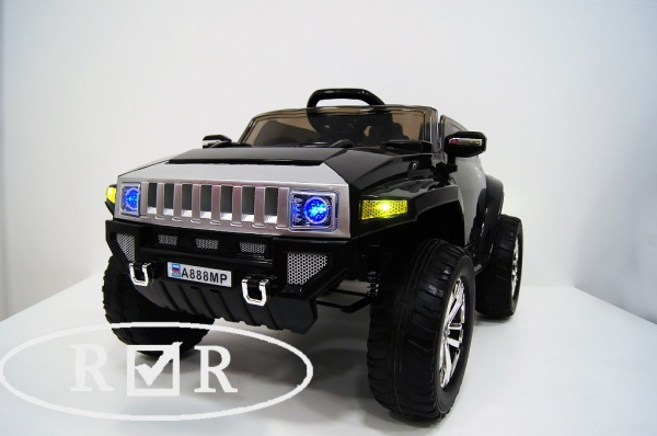 Электромобиль Rivertoys Hummer A888MP с дистанционным управлением, черный