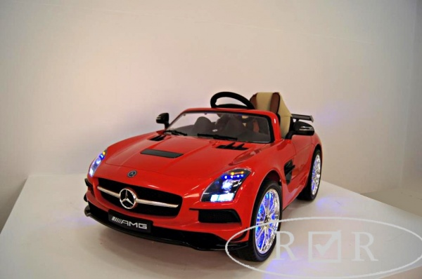 Электромобиль Rivertoys Mercedes-Benz SLS A333AA VIP (ЛИЦЕНЗИЯ) красный