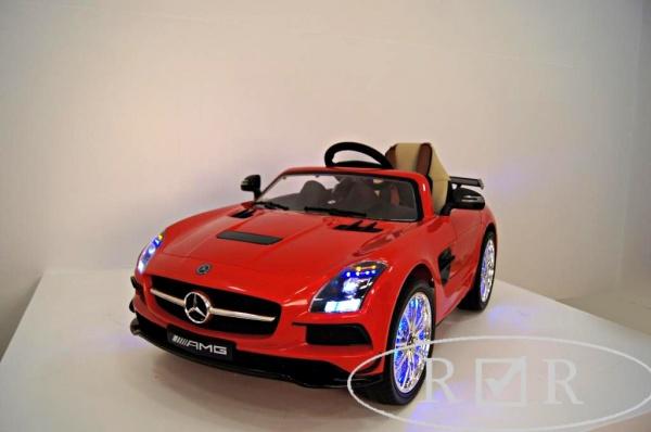 Электромобиль Rivertoys Mercedes-Benz SLS A333AA VIP (ЛИЦЕНЗИЯ) красный