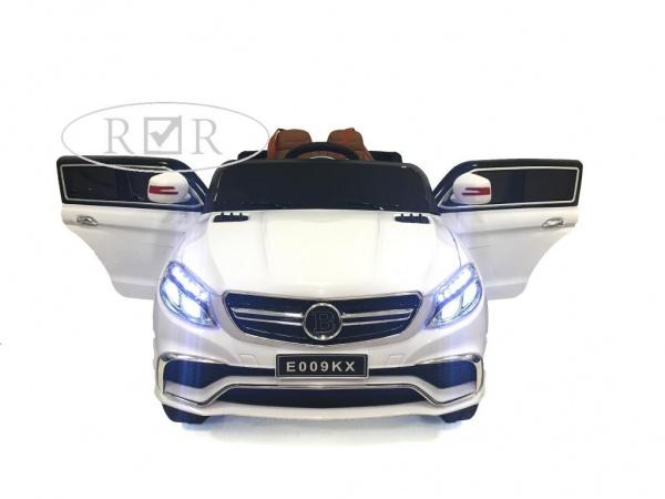 Электромобиль Rivertoys Mercedes E009KX с дистанционным управлением, белый