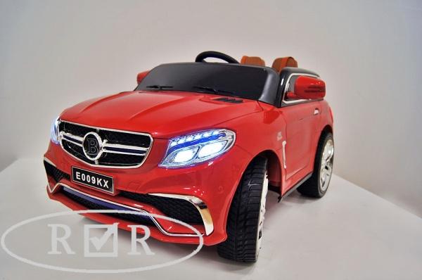 Электромобиль Rivertoys Mercedes E009KX с дистанционным управлением, красный