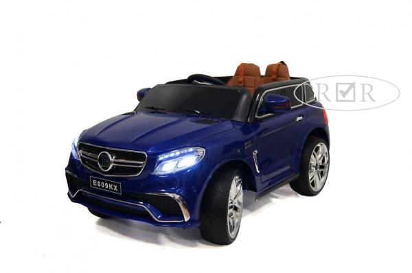 Электромобиль Rivertoys Mercedes E009KX с дистанционным управлением, синий