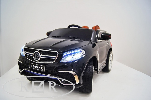Электромобиль Rivertoys Mercedes E009KX с дистанционным управлением, черный