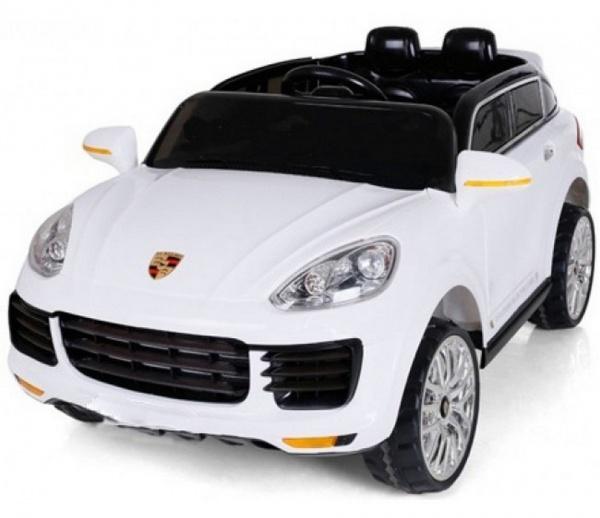 Электромобиль Rivertoys Porsche E008KX с дистанционным управлением, белый