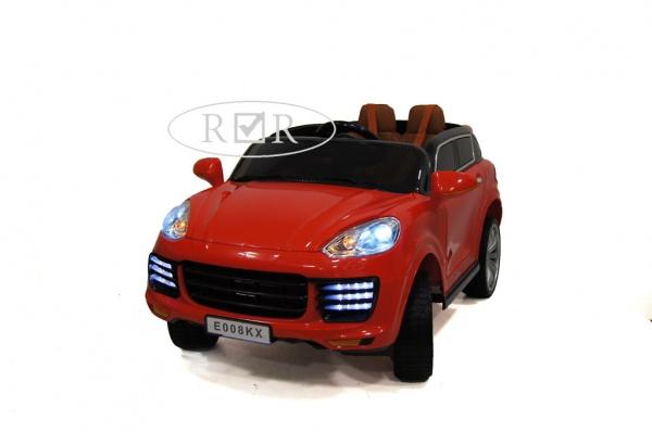Электромобиль Rivertoys Porsche E008KX с дистанционным управлением, красный