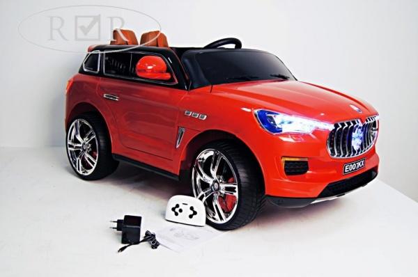 Электромобиль Rivertoys Maserati E007KX с дистанционным управлением, красный