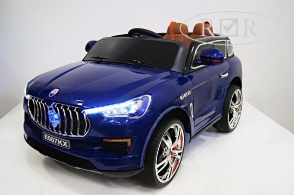 Электромобиль Rivertoys Maserati E007KX с дистанционным управлением, синий