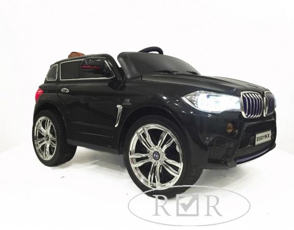 Электромобиль Rivertoys BMW E002KX с дистанционным управлением, черный