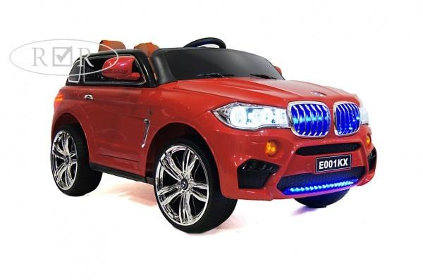 Электромобиль Rivertoys BMW E002KX с дистанционным управлением, красный