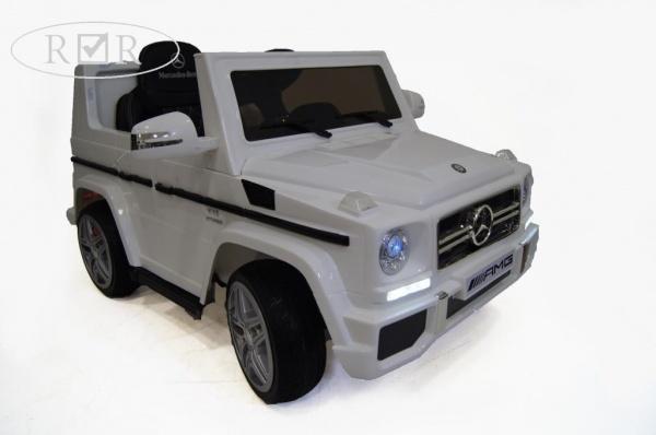 Электромобиль Rivertoys Mercedes-Benz G-65 (ЛИЦЕНЗИЯ), белый