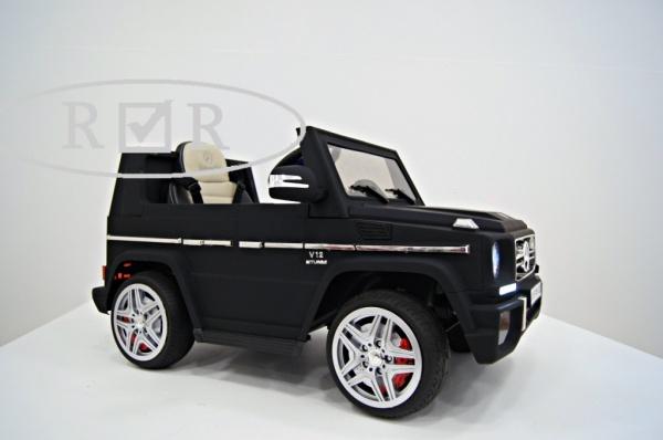 Электромобиль Rivertoys Mercedes-Benz G-65 (ЛИЦЕНЗИЯ), черный матовый