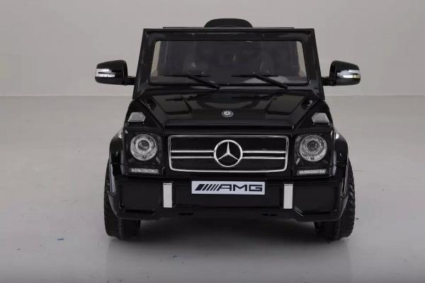 Электромобиль Rivertoys Mercedes-Benz G-65 (ЛИЦЕНЗИЯ), черный глянец