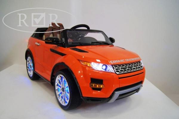 Электромобиль Rivertoys Range Rover A111AA VIP с дистанционным управлением, оранжевый
