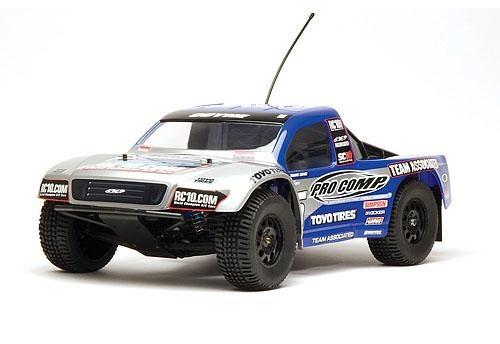 Радиоуправляемый ралли-кросс Associated Electronic 1/10 2WD - SC10 RTR, кузов PRO COMP (коллекторный двигатель / без АКК. И З/У)