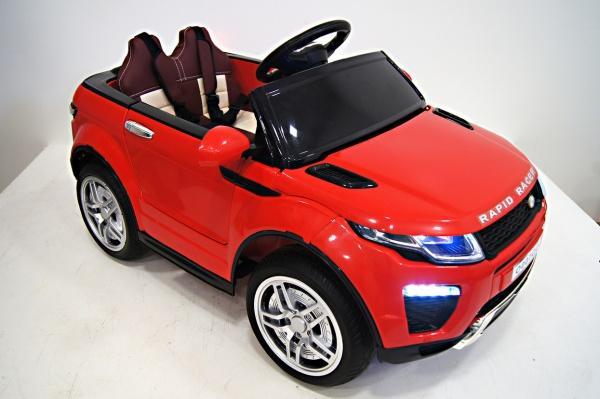 Электромобиль RiverToys Range O007OO VIP с дистанционным управлением, красный