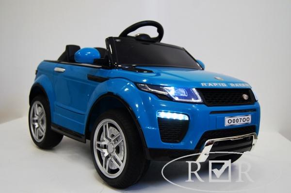 Электромобиль RiverToys Range O007OO VIP с дистанционным управлением, синий