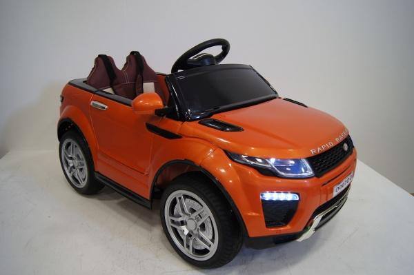 Электромобиль RiverToys Range O007OO VIP с дистанционным управлением, оранжевый