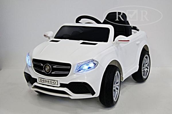 Электромобиль RiverToys Mers O008OO VIP с дистанционным управлением, белый