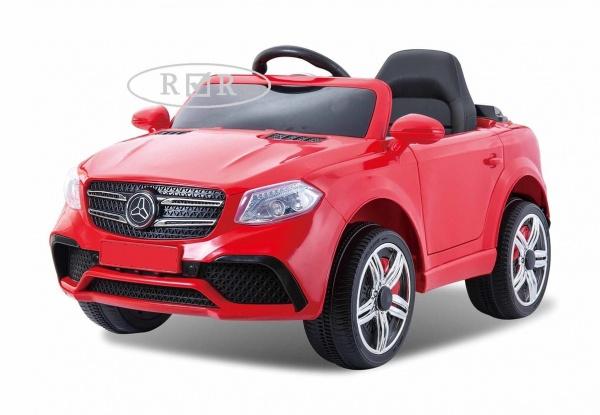 Электромобиль RiverToys Mers O008OO VIP с дистанционным управлением, красный