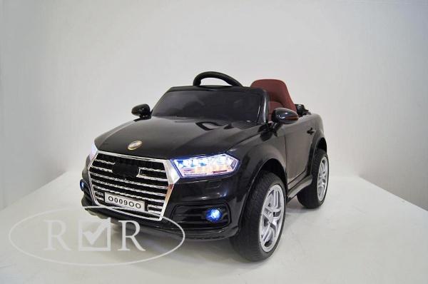 Электромобиль RiverToys AUDI O009OO VIP с дистанционным управлением, черный