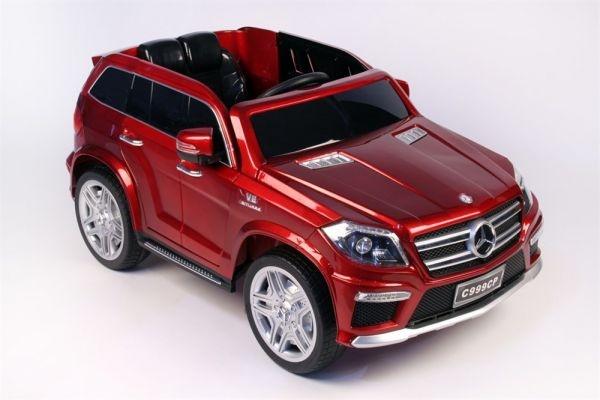 Электромобиль RiverToys Mercedes-Benz GL63 AMG (лицензионная модель) с дистанционным управлением, красный