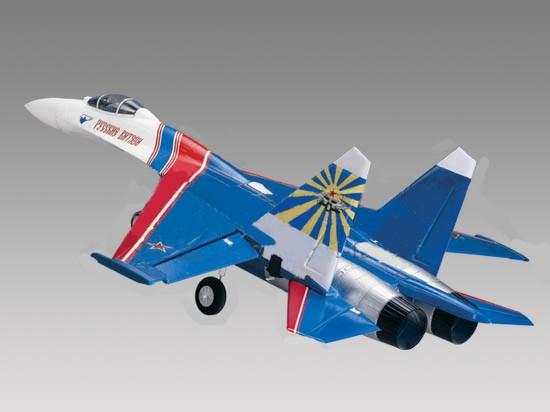 Радиоуправляемый самолет Art-tech Su-27 Warrior с электрическим шасси 2.4G